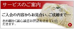 サービスのご案内-熊本結婚相談室アイキャン-